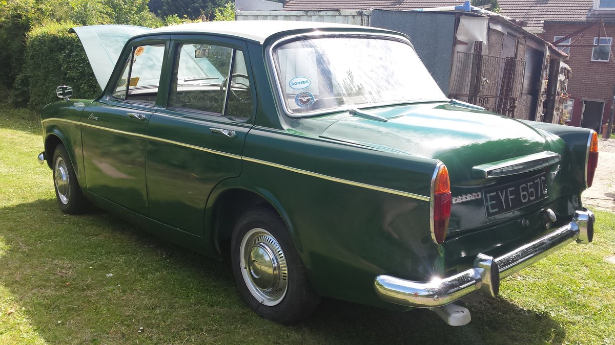 1965 Hillman minx SOLD (picture 2 of 6)