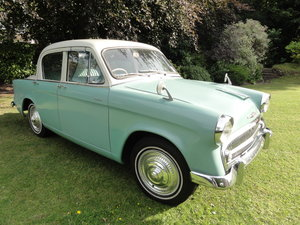 1957 Hillman Minx Saloon  SOLD