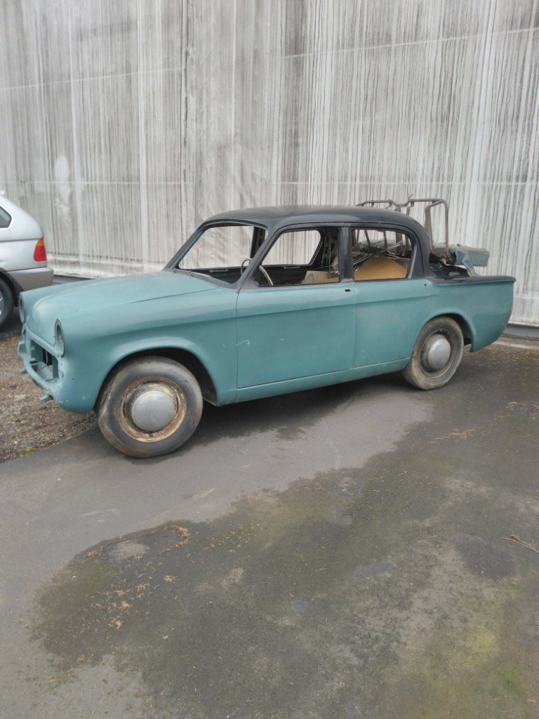 1960 Hillman Minx - Lot 981 For Sale by Auction (picture 1 of 5)
