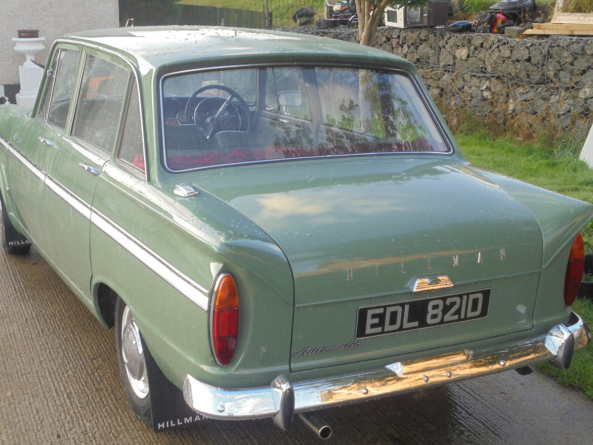 Hillman super minx 1966 SOLD (picture 4 of 6)