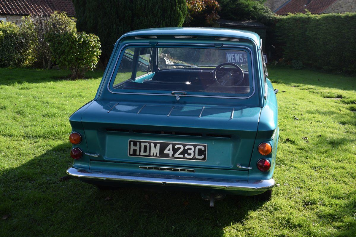 1965 HILLMAN SUPER IMP - FULLY RESTORED AFTER BARN FIND! SOLD (picture 1 of 6)