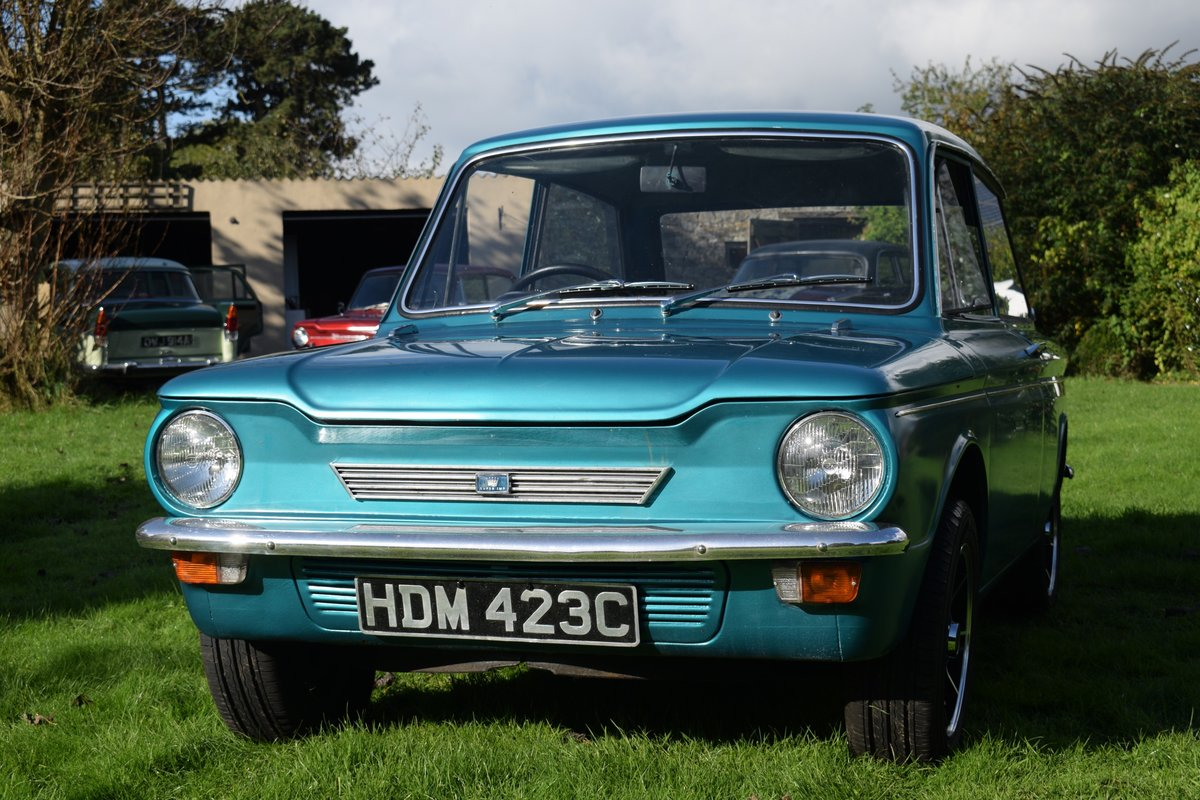 1965 HILLMAN SUPER IMP - FULLY RESTORED AFTER BARN FIND! SOLD (picture 2 of 6)