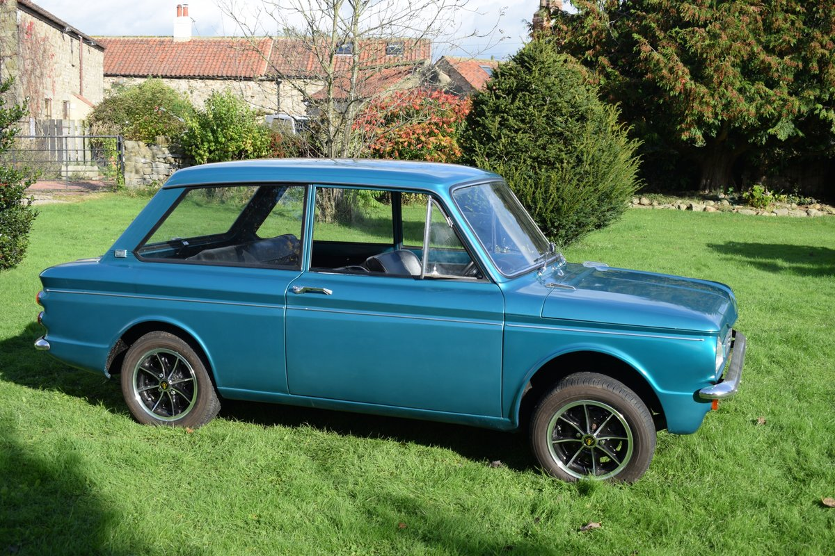 1965 HILLMAN SUPER IMP - FULLY RESTORED AFTER BARN FIND! SOLD (picture 3 of 6)