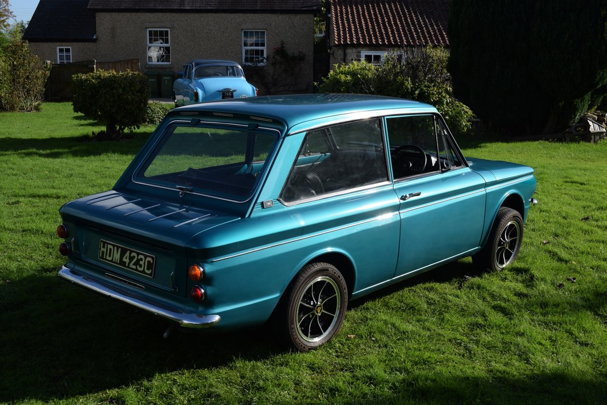 1965 HILLMAN SUPER IMP - FULLY RESTORED AFTER BARN FIND! SOLD (picture 4 of 6)
