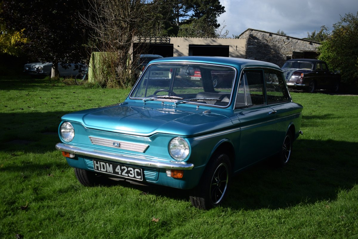 1965 HILLMAN SUPER IMP - FULLY RESTORED AFTER BARN FIND! SOLD (picture 5 of 6)