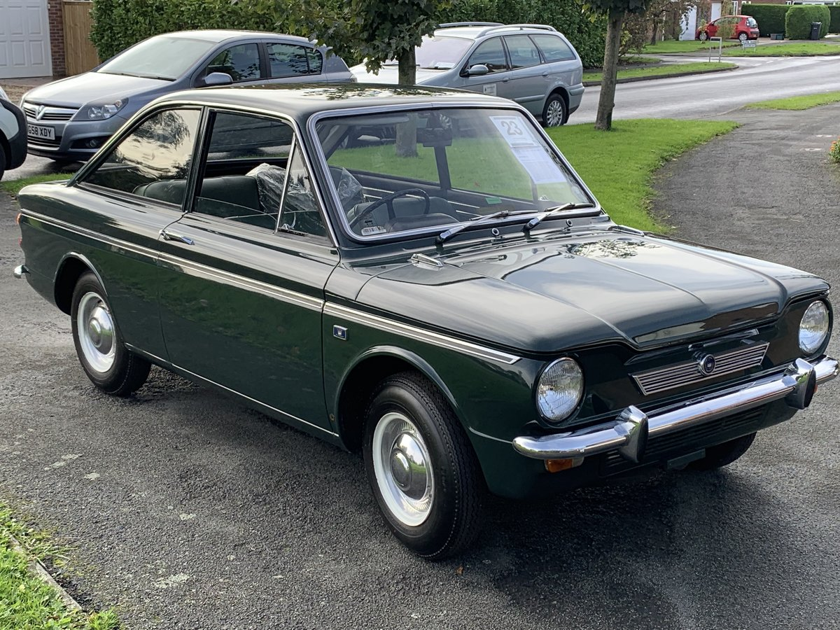 1967 hillman imp calafornian 82 miles from new For Sale (picture 2 of 6)