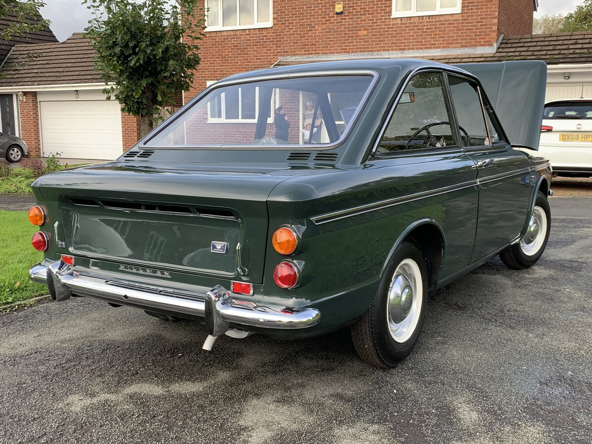 1967 hillman imp calafornian 82 miles from new For Sale (picture 6 of 6)
