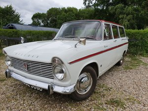 Hillman Super Minx Estate - ready to drive away