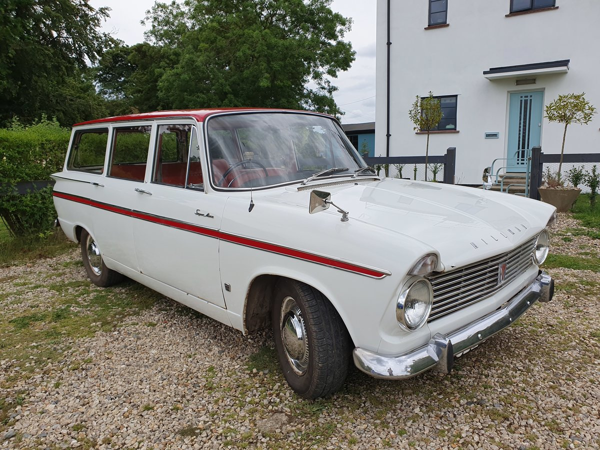 Hillman Super Minx Estate - ready to drive away SOLD (picture 3 of 6)