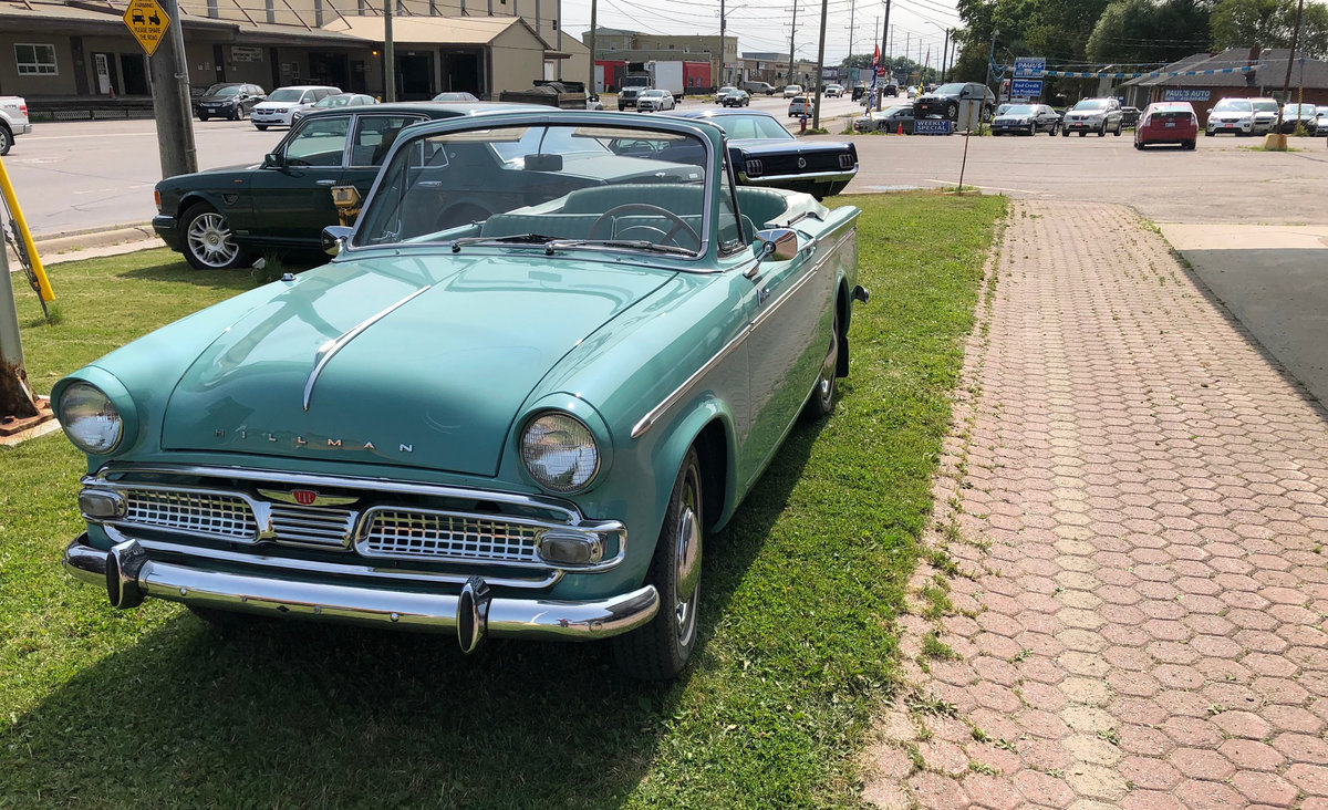 1961 Hillman Minx Convertible SOLD (picture 1 of 6)