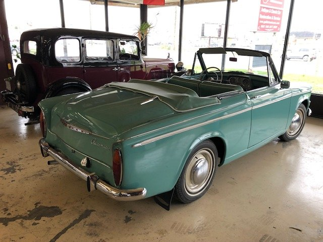 1961 Hillman Minx Convertible SOLD (picture 4 of 6)