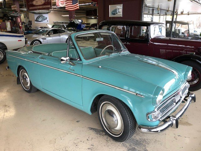 1961 Hillman Minx Convertible SOLD (picture 5 of 6)