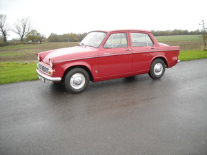 1966 HILLMAN MINX DELUXE RARE BEING THE 1725cc MODEL