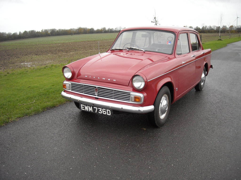 1966 HILLMAN MINX DELUXE RARE BEING THE 1725cc MODEL For Sale (picture 2 of 6)