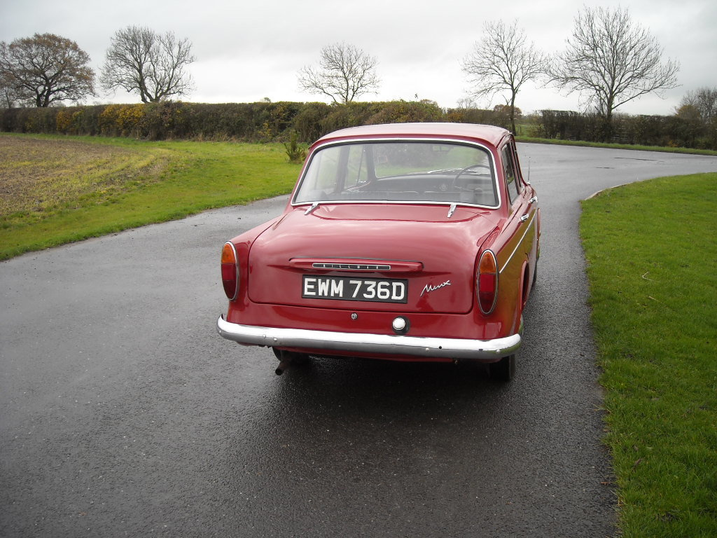 1966 HILLMAN MINX DELUXE RARE BEING THE 1725cc MODEL For Sale (picture 4 of 6)