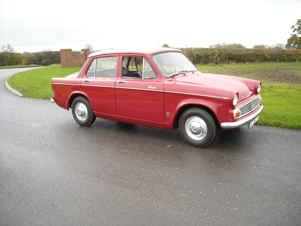 1966 HILLMAN MINX DELUXE RARE BEING THE 1725cc MODEL For Sale (picture 5 of 6)