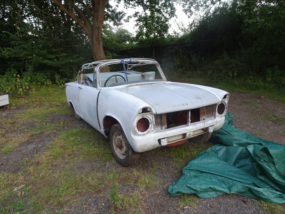 1962 hillman super minx convertible rare opportunity For Sale (picture 1 of 6)