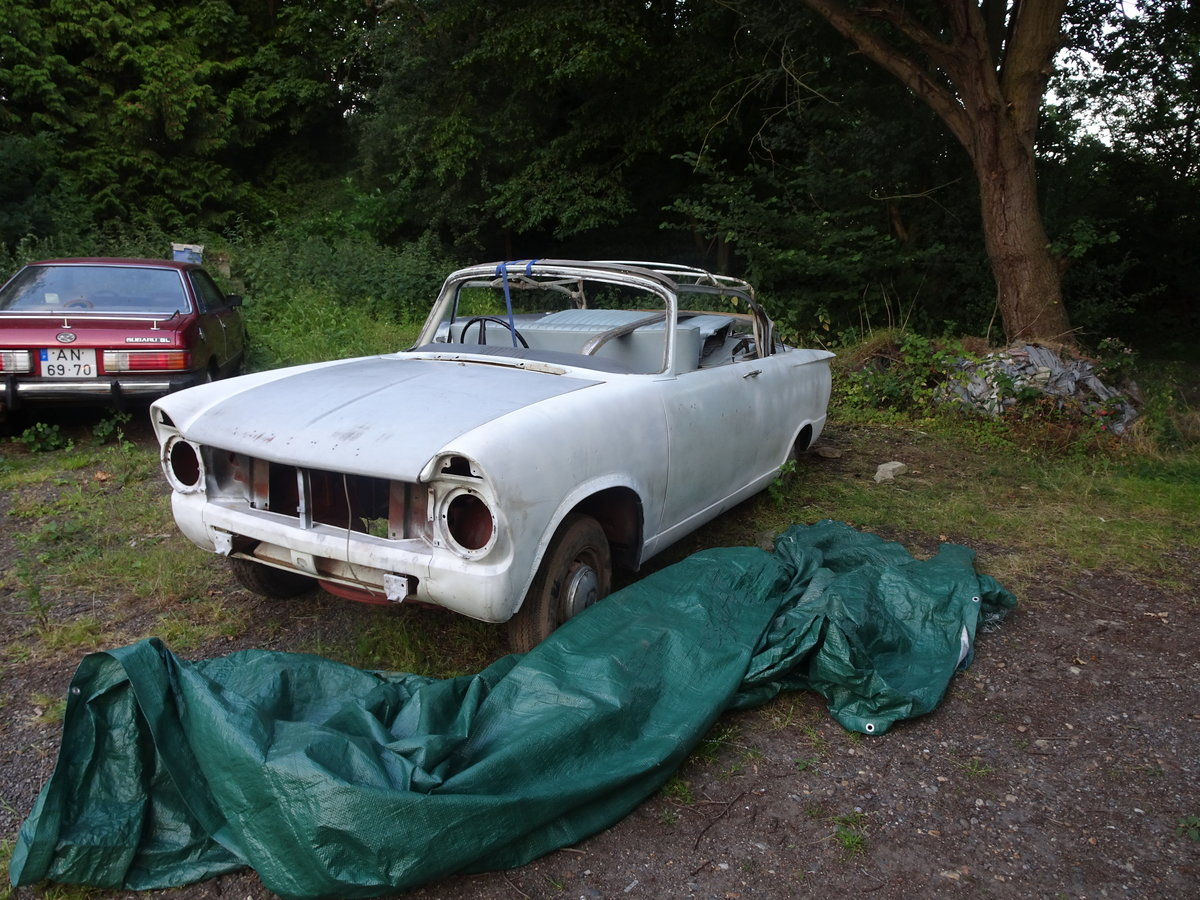 1962 hillman super minx convertible rare opportunity For Sale (picture 2 of 6)