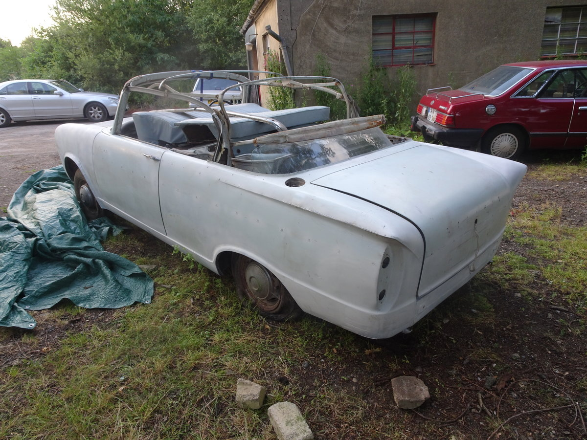 1962 hillman super minx convertible rare opportunity For Sale (picture 3 of 6)