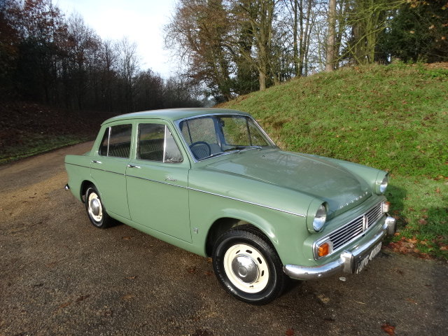 1966 HILLMAN MINX 1725 AUTO *Only 18,000 miles* SOLD (picture 1 of 4)