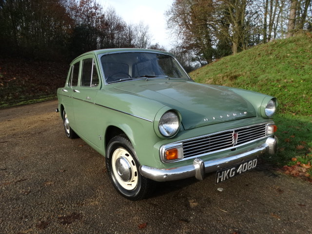 1966 HILLMAN MINX 1725 AUTO *Only 18,000 miles* SOLD (picture 2 of 4)