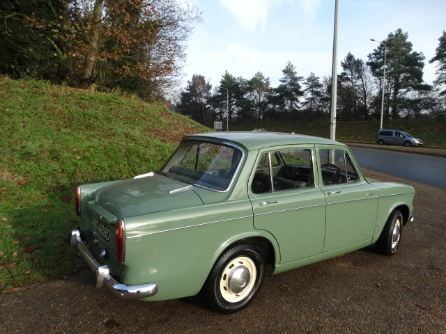 1966 HILLMAN MINX 1725 AUTO *Only 18,000 miles* SOLD (picture 3 of 4)