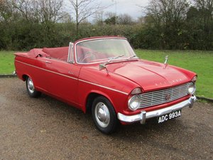 1963 Hillman Super Minx Convertible at ACA 25th January