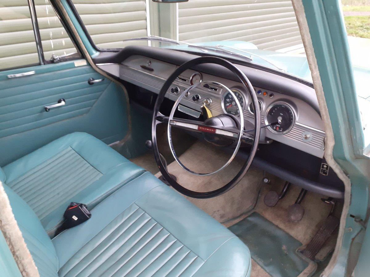 1964 Hillman Super Minx very low mileage unrestored For Sale (picture 6 of 6)