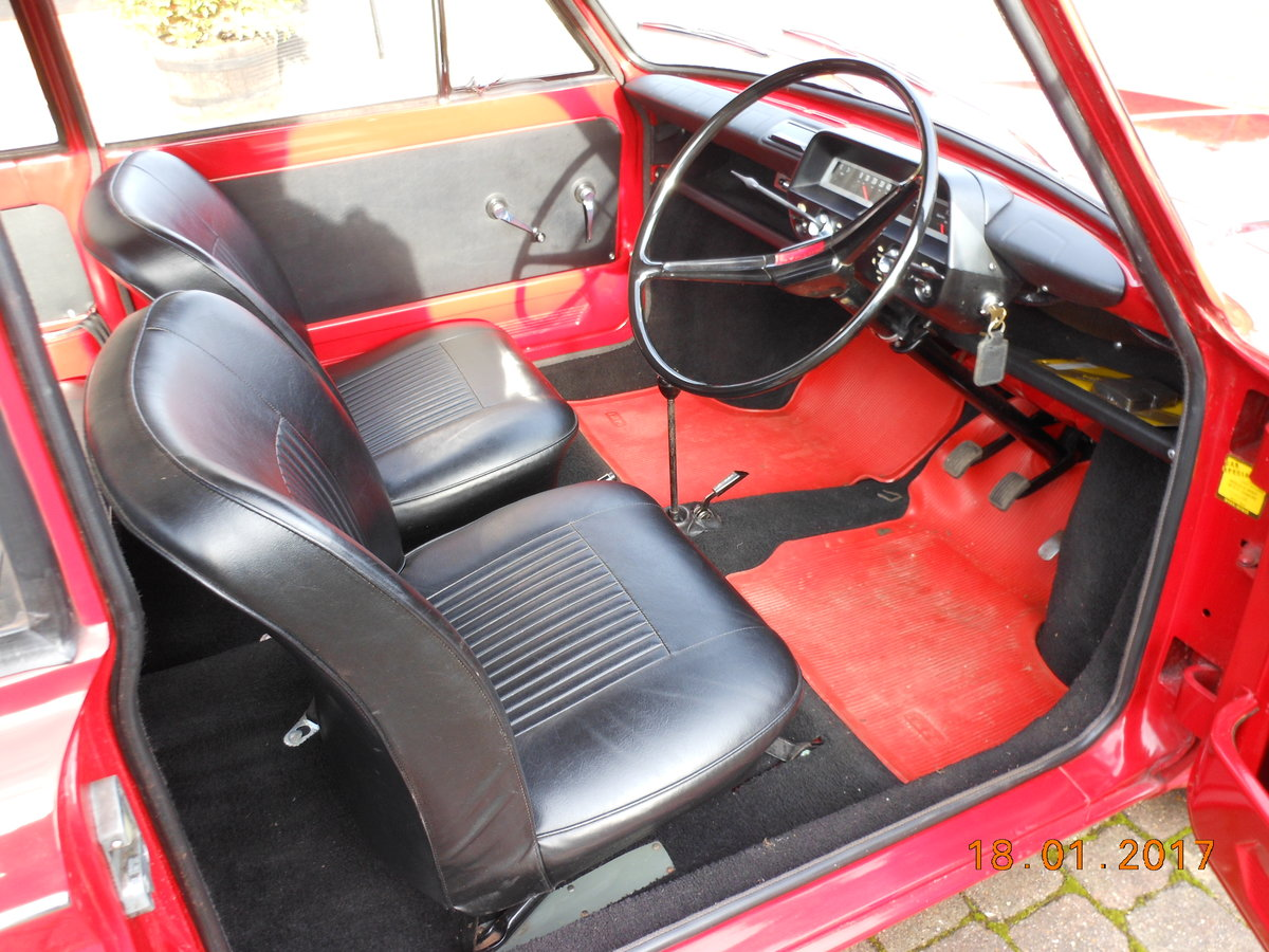1966 Hillman Imp 15789 miles Time warp unrestored For Sale (picture 2 of 6)