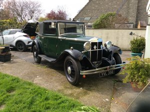 1931 Very rare Hillman Wizard DHC