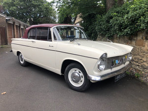 1963  Hillman Superminx Convertible 22 Feb 2020