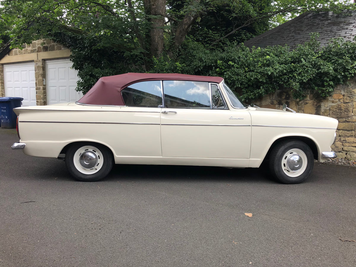 1963 Hillman Superminx Convertible 22 Feb 2020 For Sale by Auction (picture 2 of 6)
