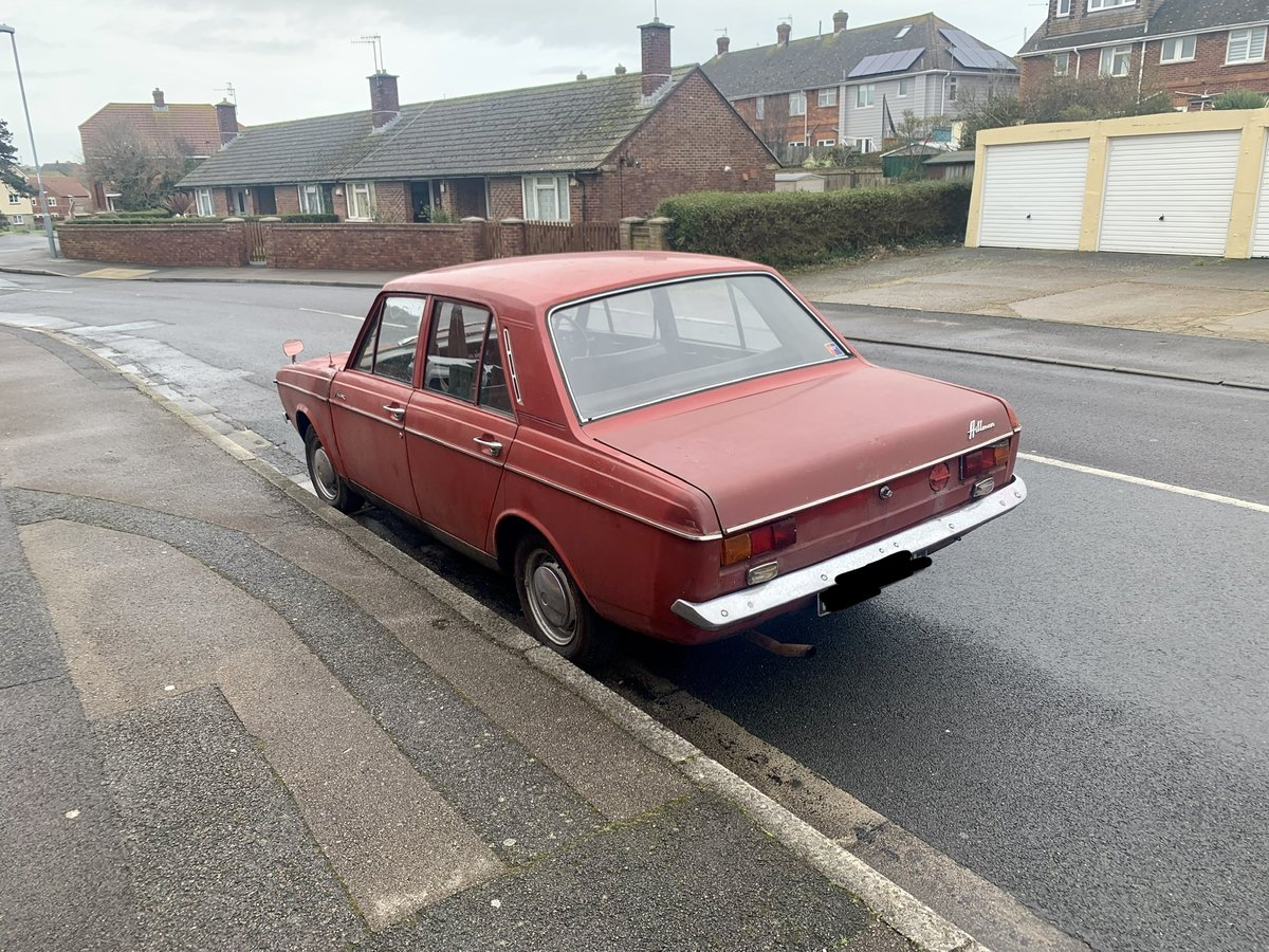1968 Hillman Mins Amazing 25k miles barn find SOLD (picture 2 of 6)