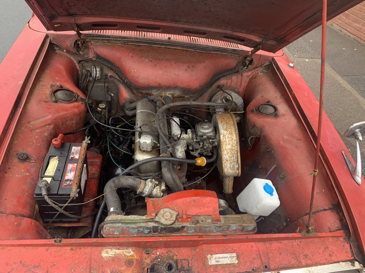 1968 Hillman Mins Amazing 25k miles barn find SOLD (picture 5 of 6)