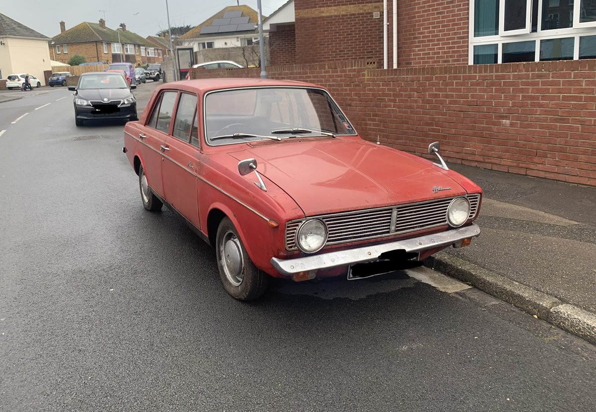 1968 Hillman Mins Amazing 25k miles barn find SOLD (picture 1 of 6)