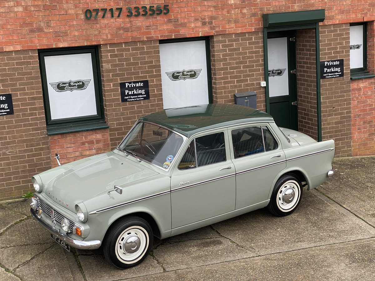 1965 Hillman Minx, 26000 miles from new  For Sale (picture 1 of 6)