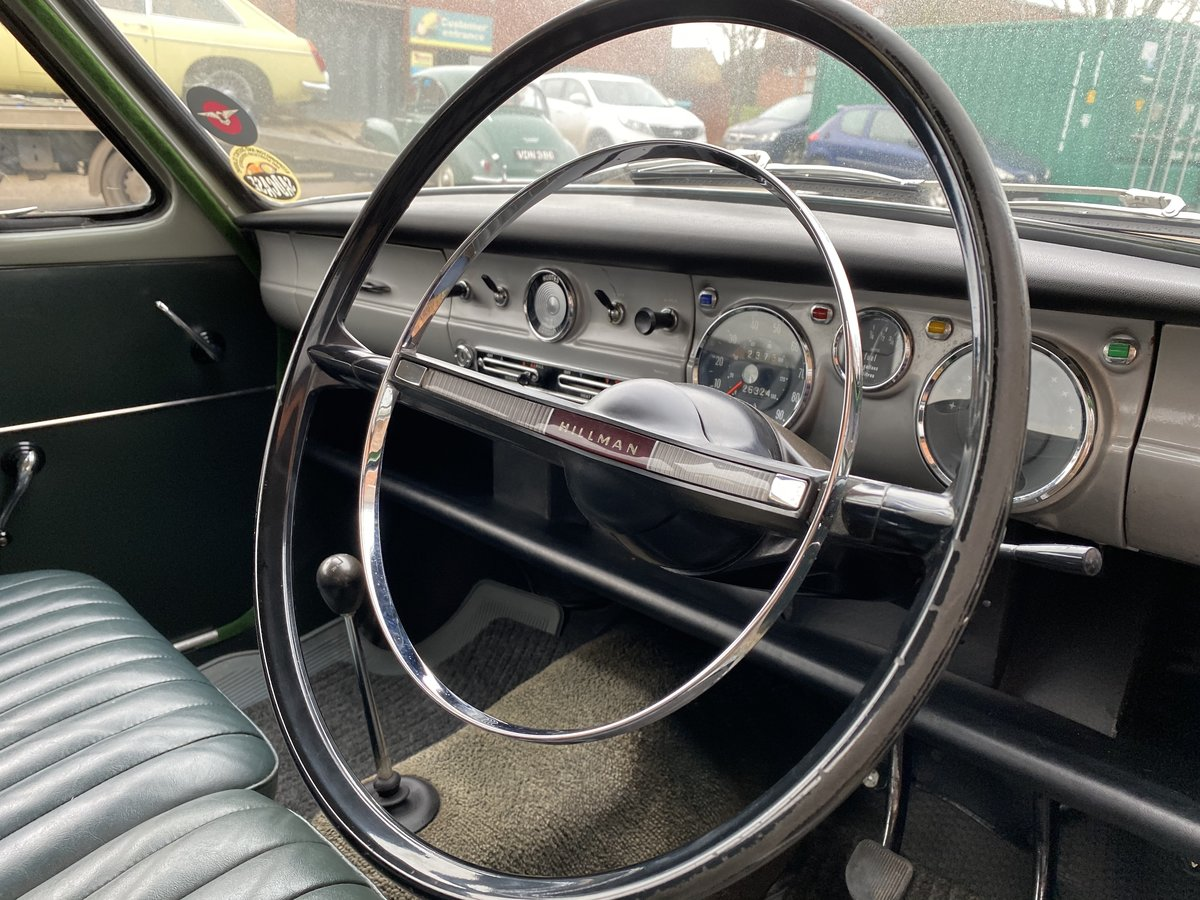 1965 Hillman Minx, 26000 miles from new  For Sale (picture 5 of 6)