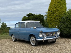 1964 Hillman Super Minx. Previous Show Winner