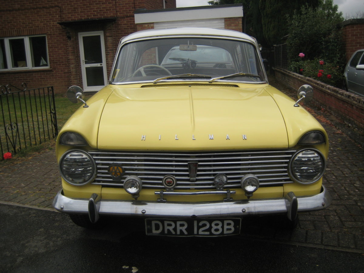 1963 Hillman Super Minx Automatic SOLD (picture 2 of 6)