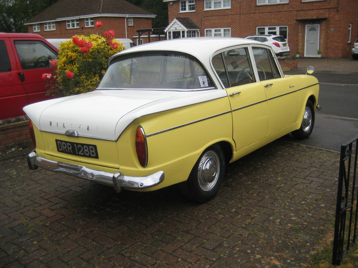 1963 Hillman Super Minx Automatic SOLD (picture 3 of 6)
