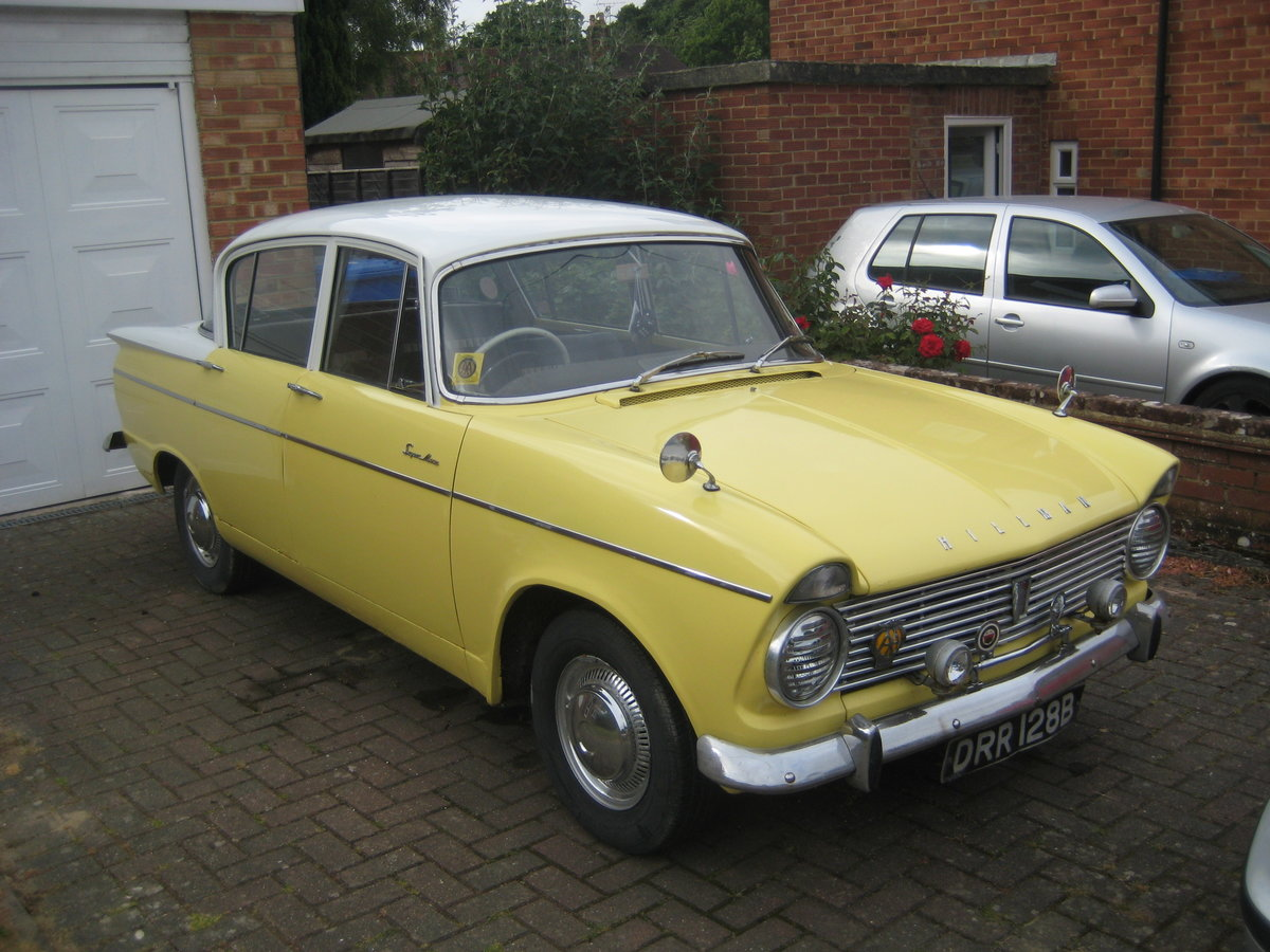 1963 Hillman Super Minx Automatic SOLD (picture 6 of 6)