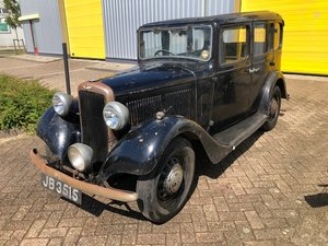 1934 Hillman Minx, unrestored original barnfind
