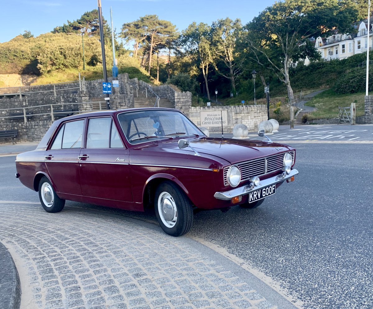 1968 Super rare Hillman New Minx! UNLEADED! Not Paykan For Sale (picture 1 of 6)