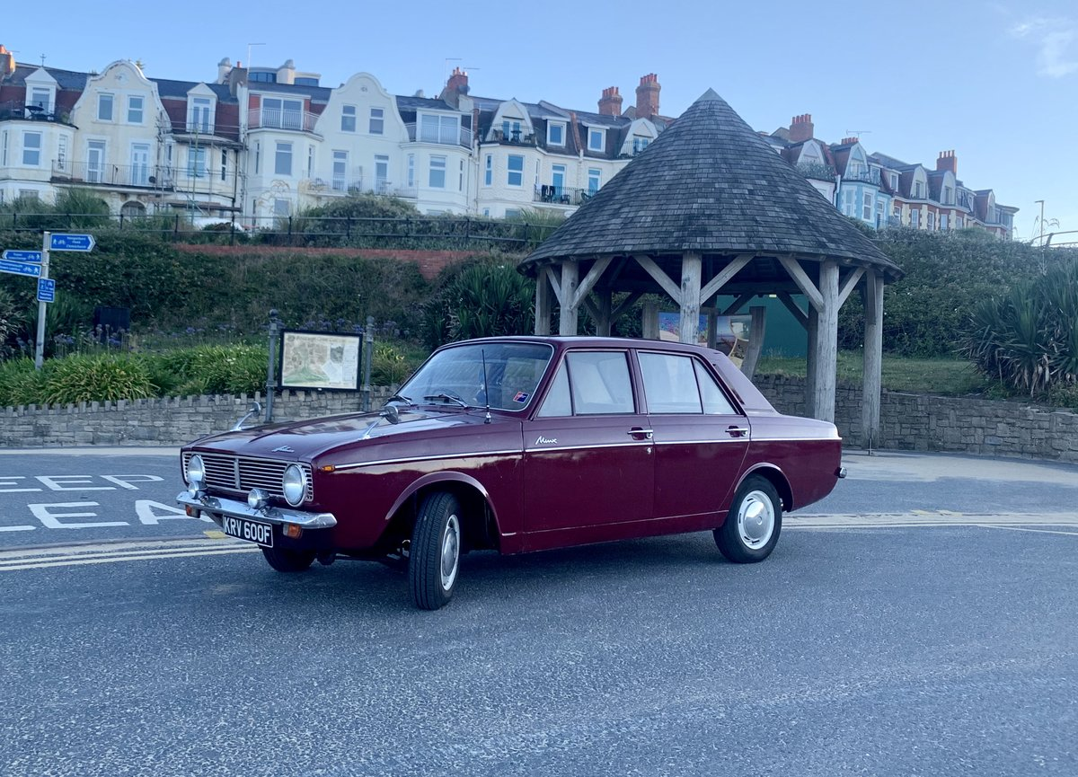 1968 Super rare Hillman New Minx! UNLEADED! Not Paykan For Sale (picture 2 of 6)