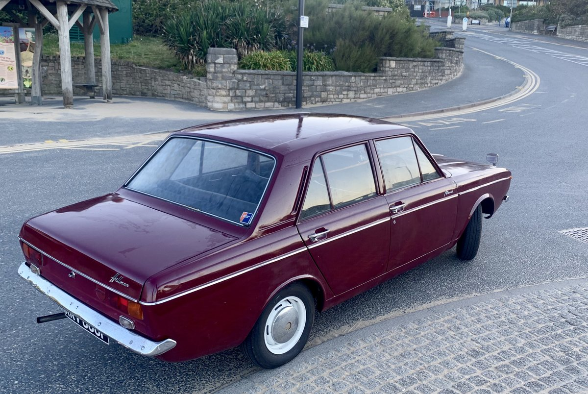 1968 Super rare Hillman New Minx! UNLEADED! Not Paykan For Sale (picture 3 of 6)