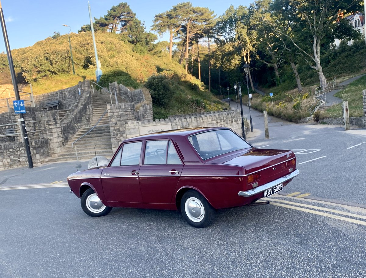 1968 Super rare Hillman New Minx! UNLEADED! Not Paykan For Sale (picture 4 of 6)