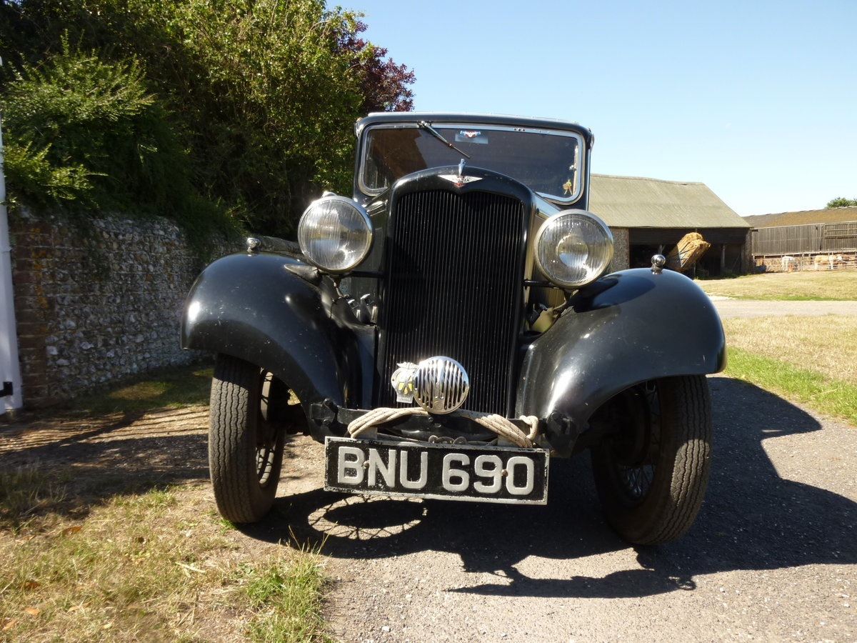 1935 hillman ready for adventure SOLD (picture 1 of 6)