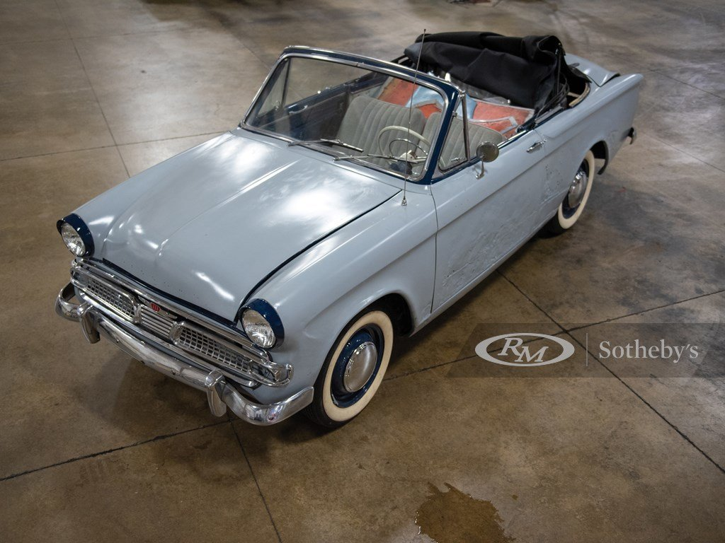 1961 Hillman Minx Convertible Project  For Sale by Auction (picture 1 of 6)