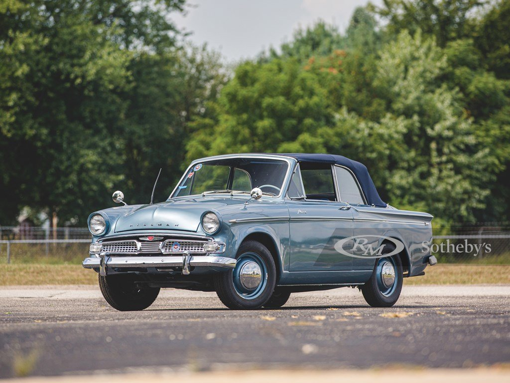 1960 Hillman Minx Series IIIA Convertible  For Sale by Auction (picture 1 of 6)