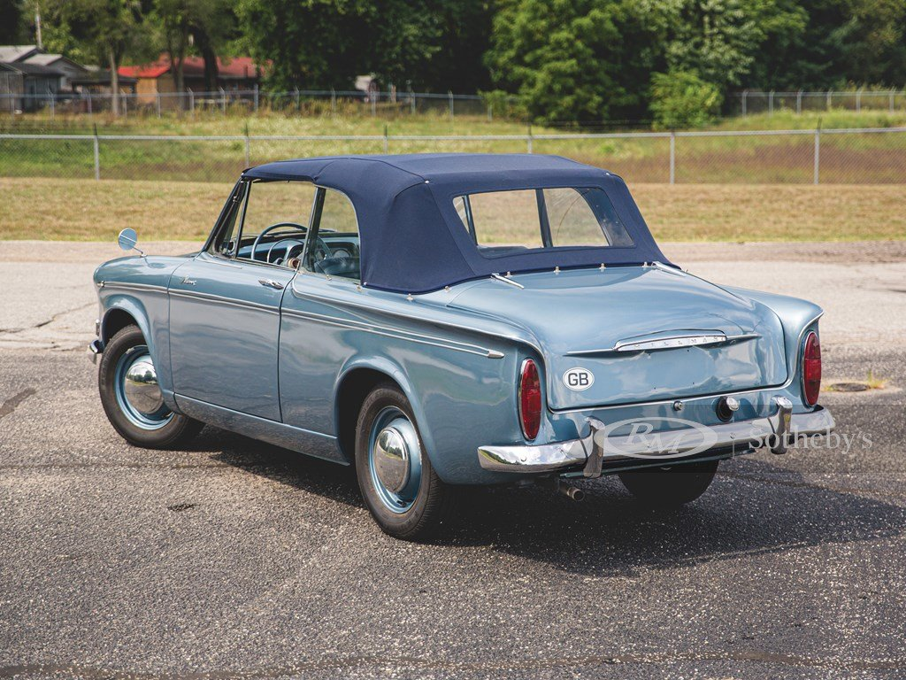 1960 Hillman Minx Series IIIA Convertible  For Sale by Auction (picture 2 of 6)